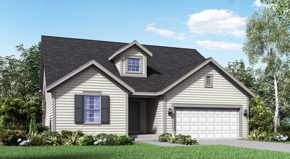 Cape May New Home Floor Plan – William Ryan Homes Floor Plans
