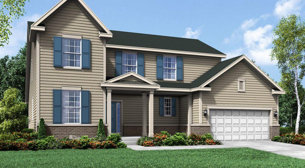 Savannah New Home Floor Plan – William Ryan Homes Floor Plans