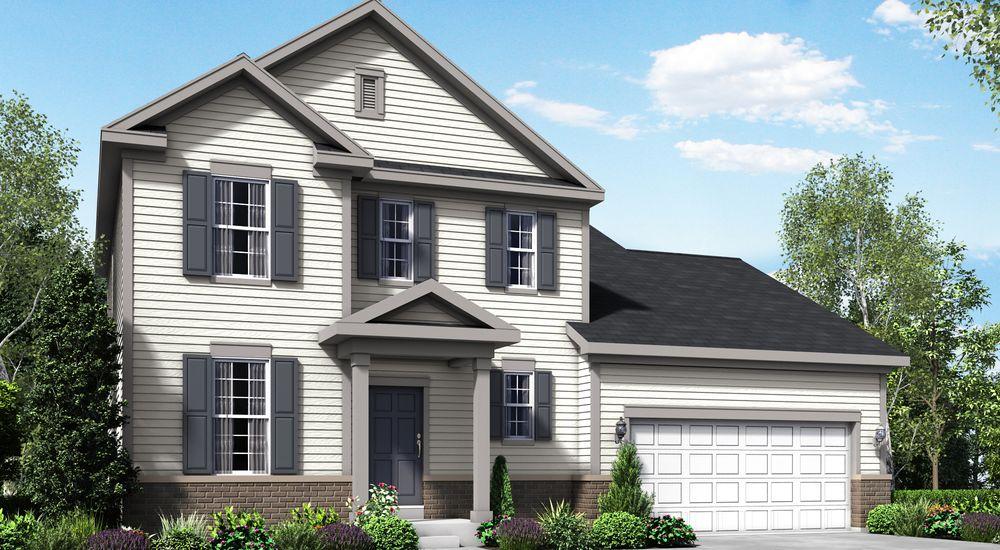 Fordham II New Home Floor Plan – William Ryan Homes Floor Plans